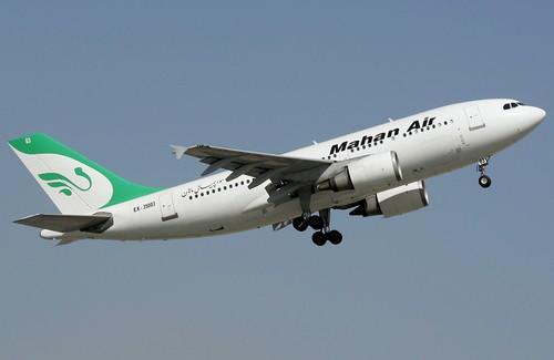 Самолет Mahan Air
